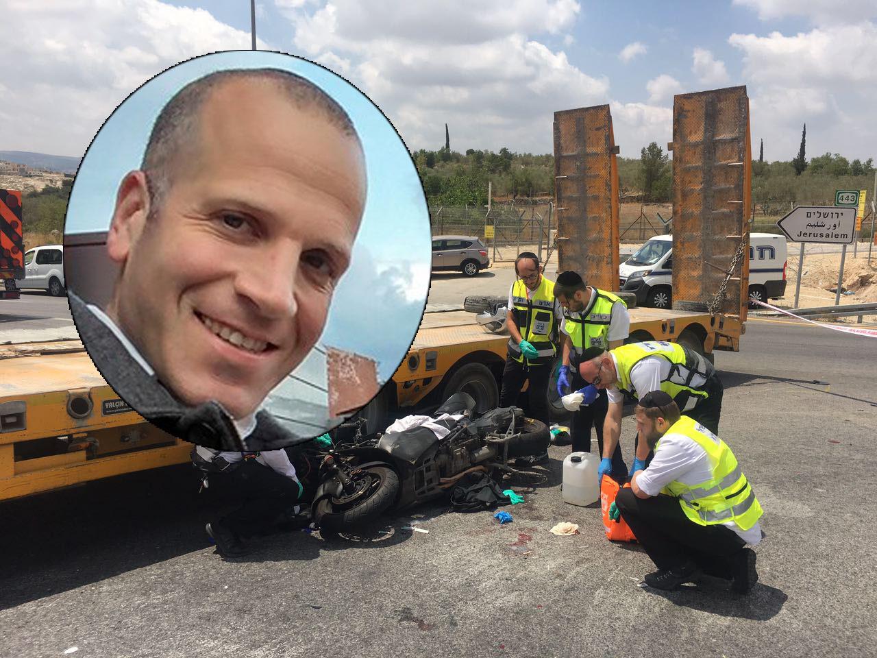 """נעצר נהג המשאית מתאונת עו""""ד בישיץ ז""""ל"""