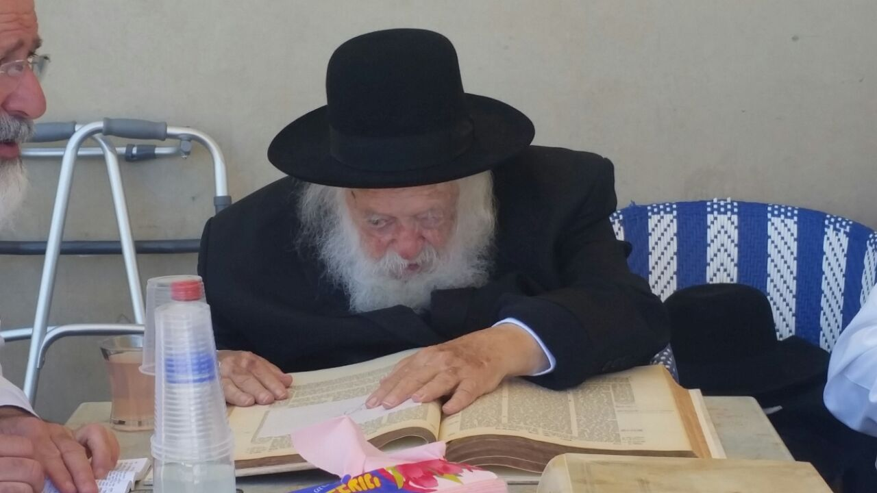 כששר התורה למד בימה של תל אביב • וידאו