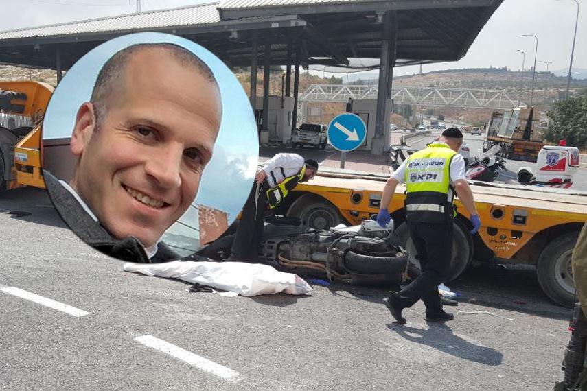 נהג המשאית שדרס את בישיץ: ''אני לא אשם!''