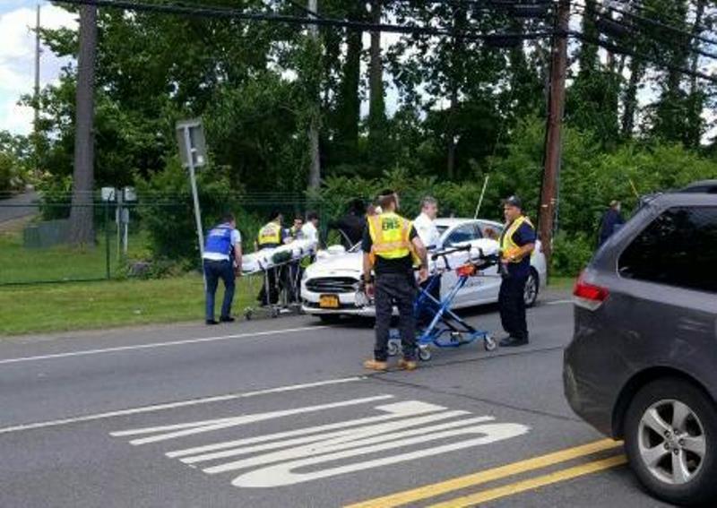 מונסי: אם ושלושת ילדיה נפצעו בתאונה