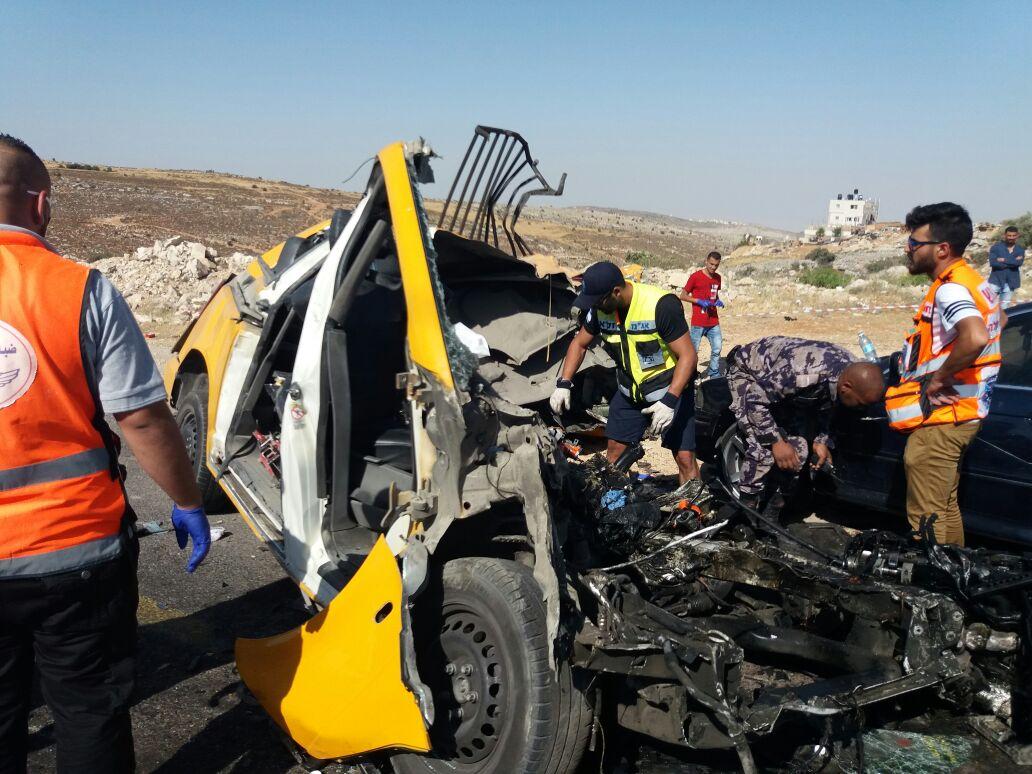 שישה הרוגים בהם נערים בתאונה בכביש 60