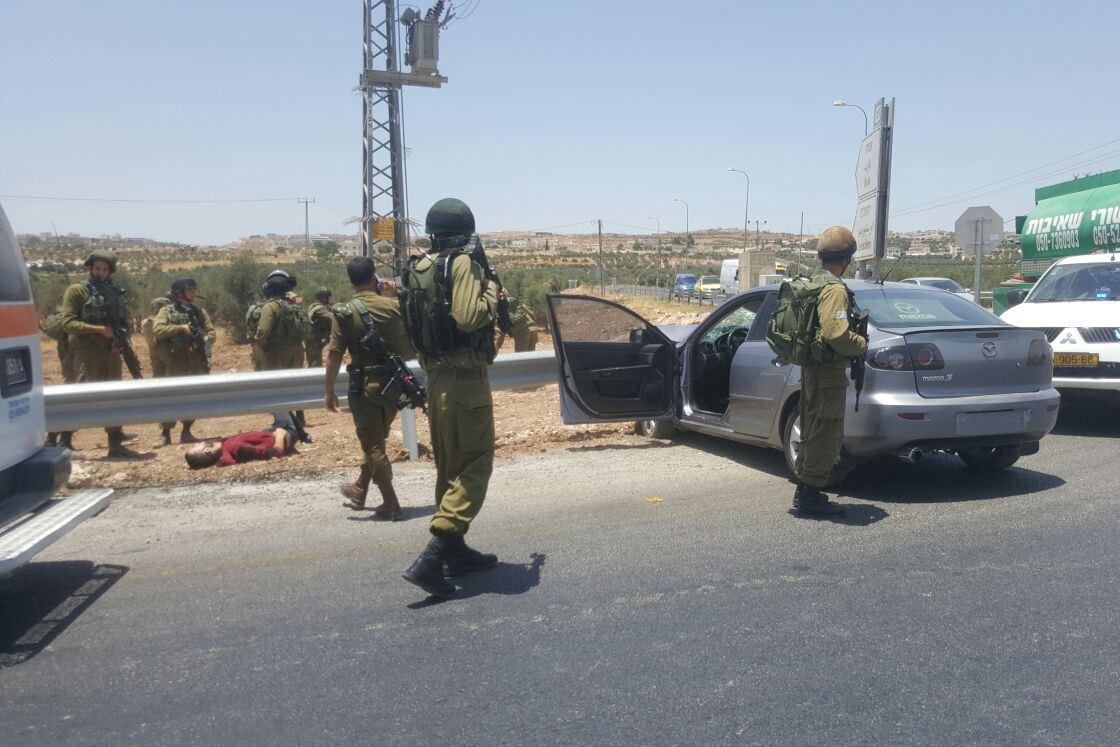 Vehicle Ramming Terror Attack In Gush Etzion
