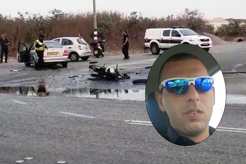 השוטר של בני ברק נהרג הבוקר בתאונה