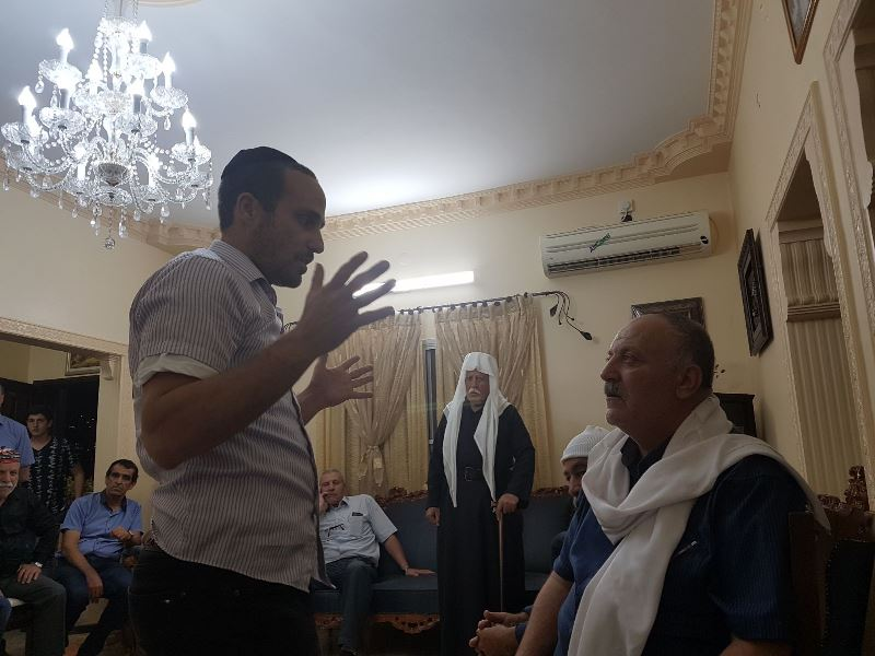 "Father Of Fallen Policeman To Chareidi Visitors: ""You Are Wonderful"""