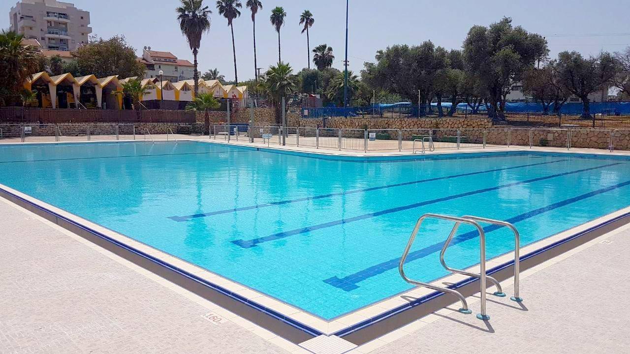 פתרון יצירתי להפעלת בריכת שחייה בשבת בלוד