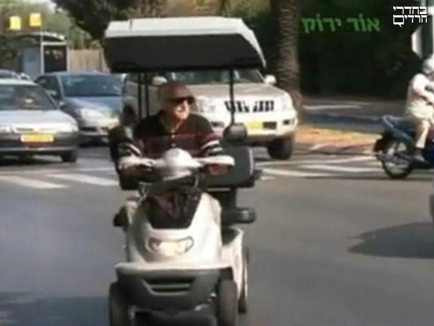 עליה של כ-7% בהיפגעות קשישים מתאונות דרכים