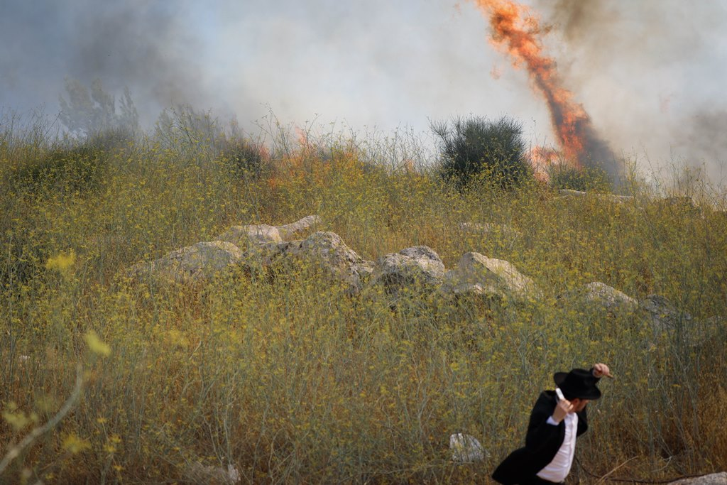 Fire In Yerushalayim: Hundreds Of Homes Evacuated
