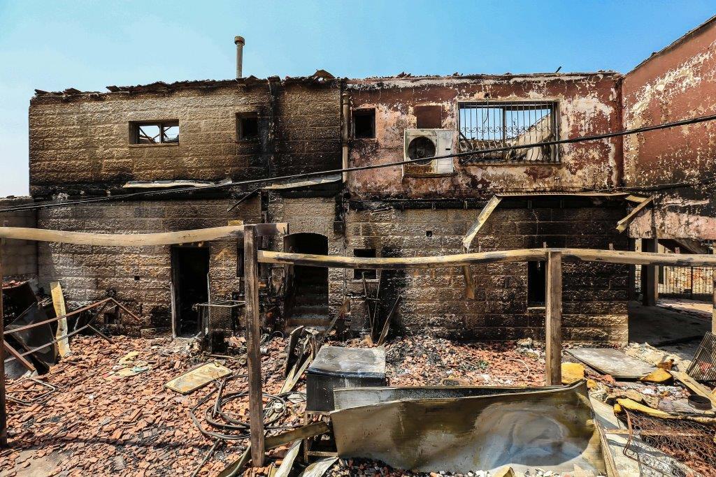 חורבן הבית: כך נראית השכונה לאחר השריפה