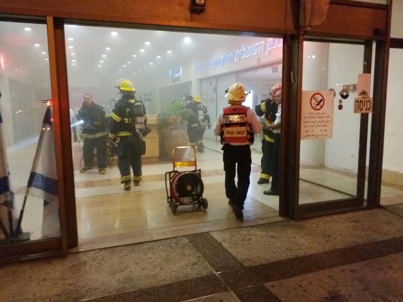 נמנע אסון: שריפה פרצה במהלך הבר מצווה