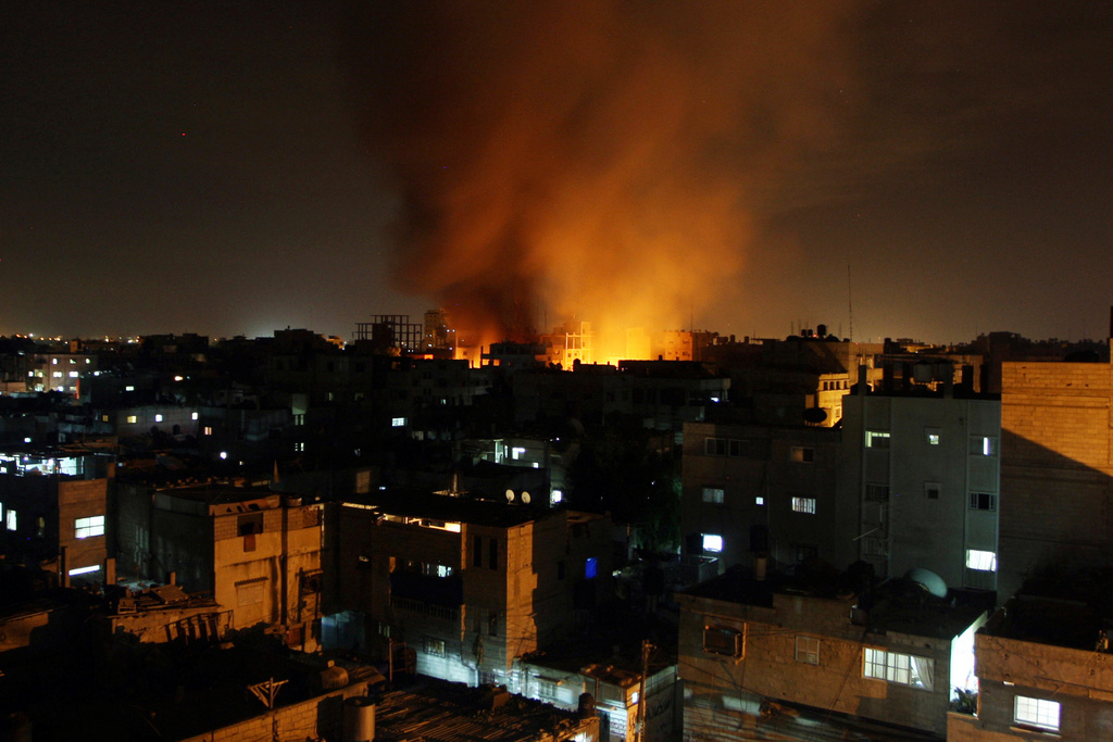 IDF Bombs Targets In Gaza In Response To Rocket Fire