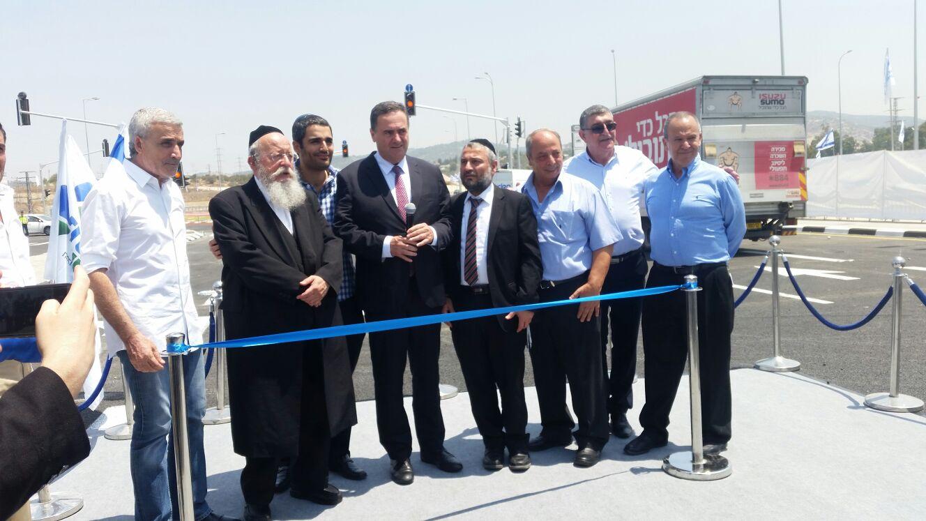הבשורה הכי גדולה לעיר החרדית: הכביש נפתח
