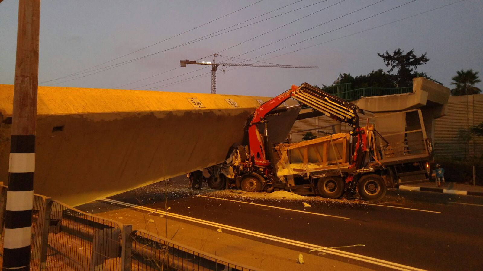 בדיקת מהנדס קבעה לפני מספר חודשים: מצב הגשר תקין לחלוטין