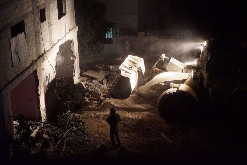 בית המחבל מחלמיש נהרס • צפו בהריסה ותוצאותיה