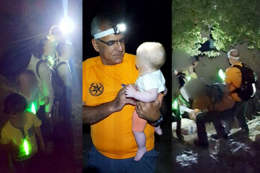 Nighttime Mission: Family Of 18 Rescued After Being Stranded For 6 Hours