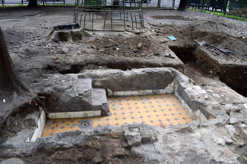 נחשפו המקואות של בית הכנסת הגדול בווילנה