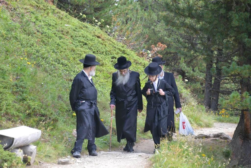 בנאות דשא: הרבי מאלכסנדר כבש את שווייץ • צפו בתיעוד