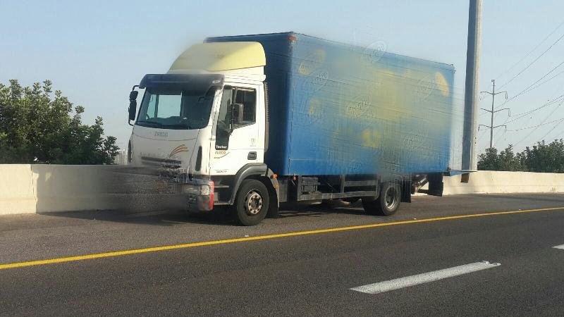 הציג רישיון שאינו בתוקף משנת 2007 - המשאית הוחרמה