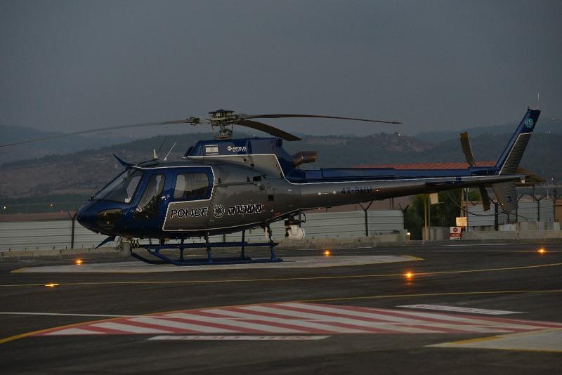 Meet Israeli Police New 'Kachal' Choppers
