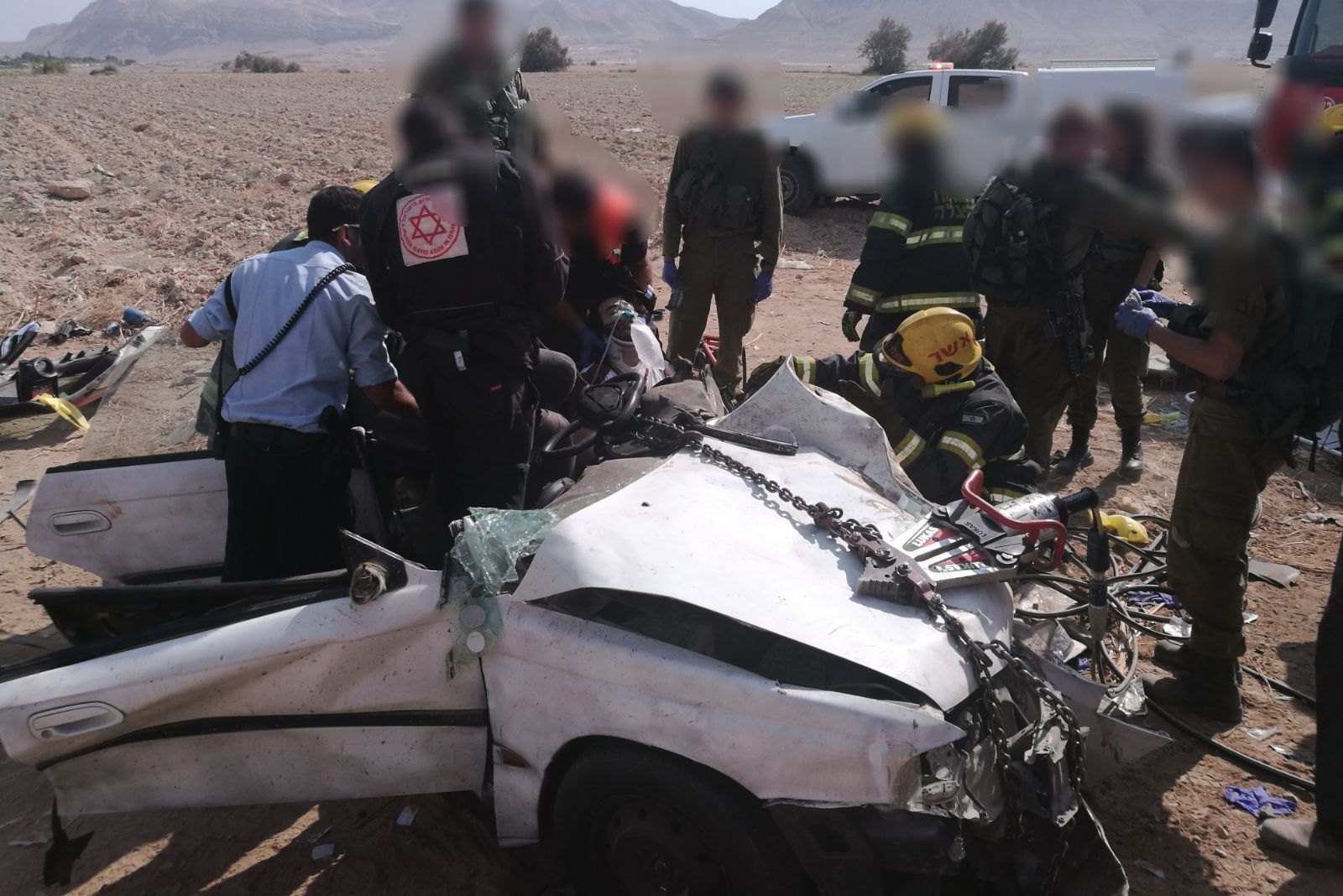 8 Injured In Horrific Collision In Jordan Valley