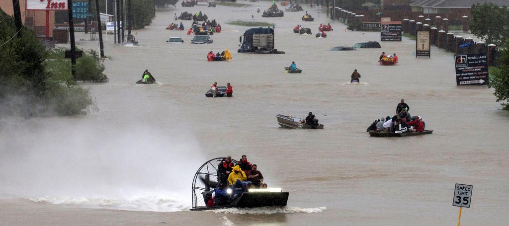 עלות אסונות הטבע ב-2017: 306 מיליארד דולר