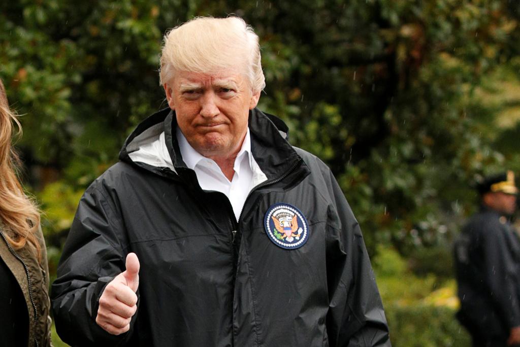 """טראמפ גאה - לעג לקודמיו: """"רק אני קיימתי"""""""
