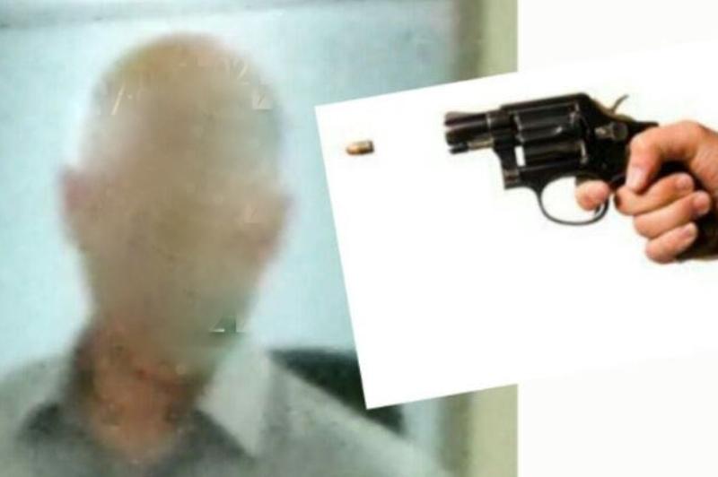 כתב אישום: פרסם תמונת קצין עם אקדח לראשו
