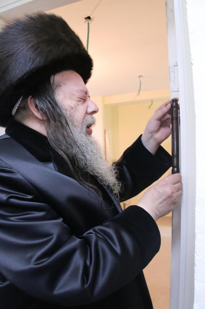 בשבת: חסידי זוועהיל חנכו את בית המדרש החדש