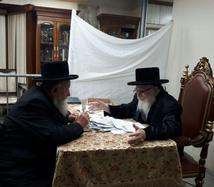 הרבי מסקווירא התעדכן ממוזס על מצב השבת בישראל
