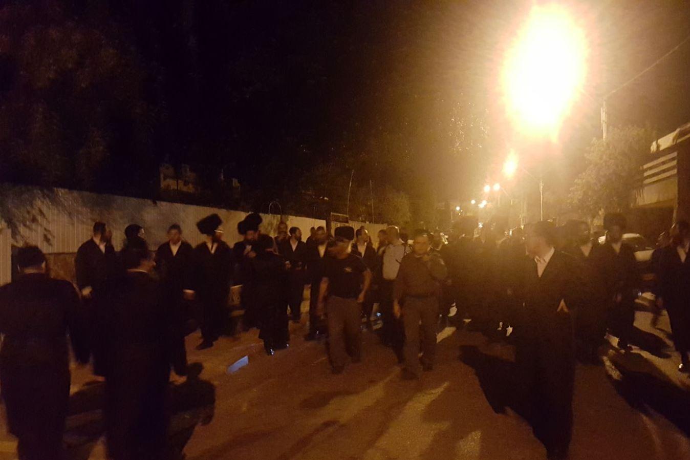 המהומות בערד: הוארך מעצרו של חסיד גור