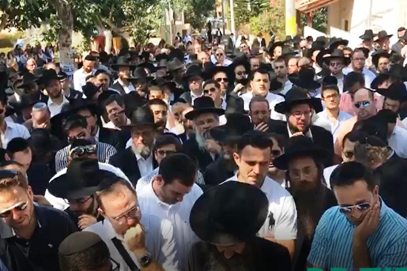 כולם בכו בלוויה של יאיר: