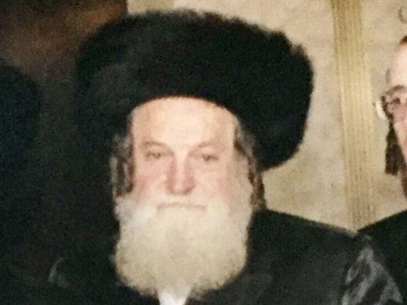 """מאנשי ירושלים: רבי ישראל שמעון חשין ז""""ל"""