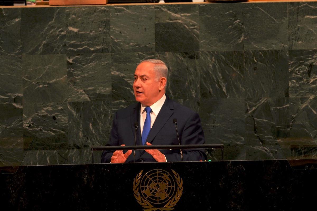 """נתניהו באו""""ם לאיראנים: נצח ישראל לא ישקר"""