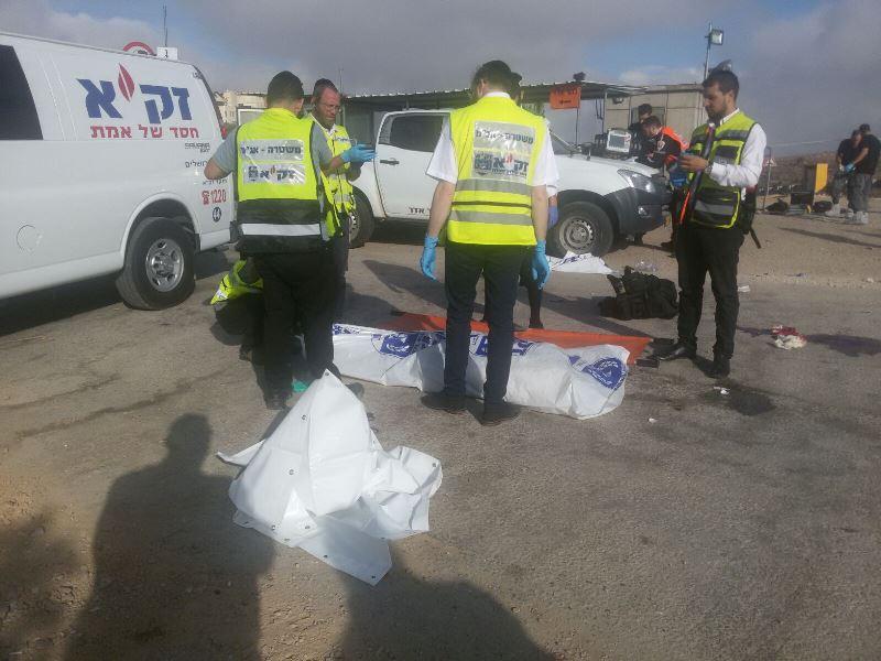 3 ישראלים נרצחו בפיגוע ירי • המחבל חוסל