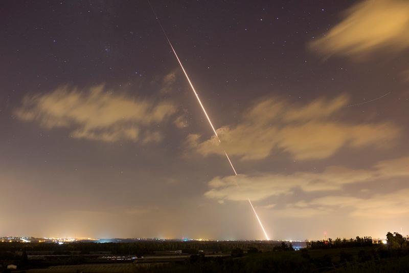 אזעקת צבע אדום במועצה האזורית אשכול: שני שיגורים זוהו מסיני