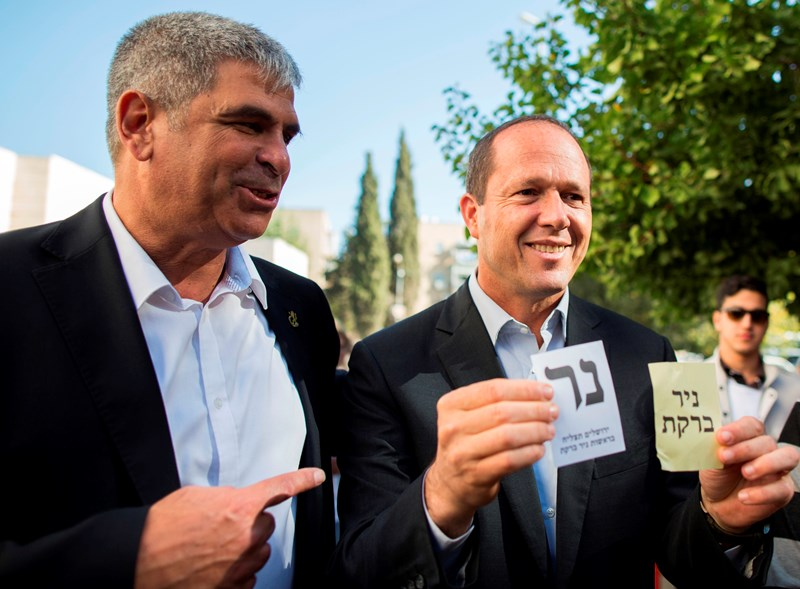 חורף מוניציפלי חם: המועמד החדש בירושלים והייבוש של ברקת