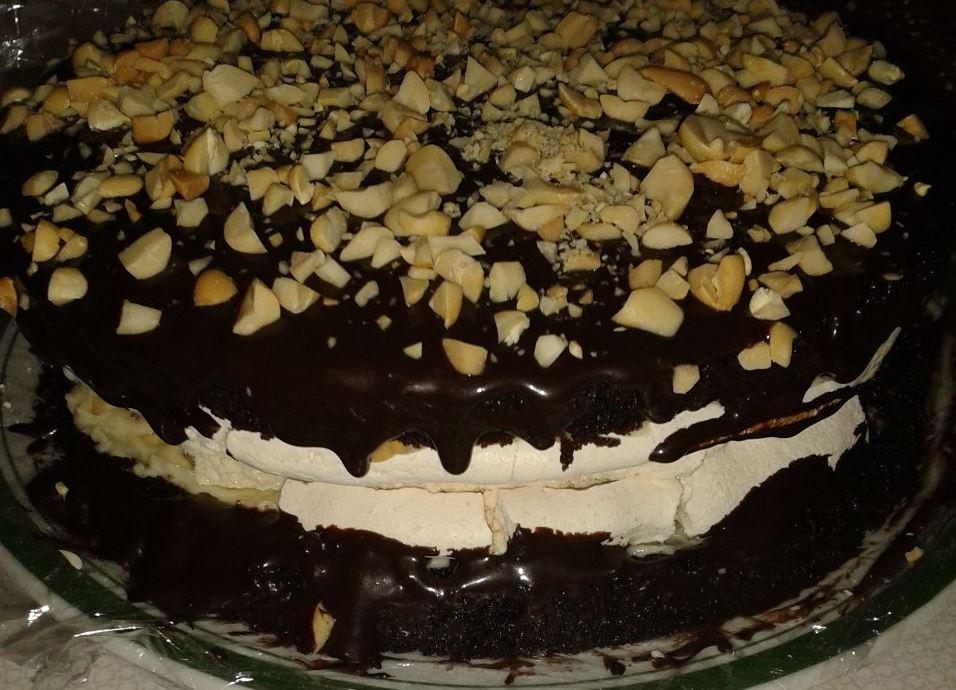 וואו! עוגת סניקרס