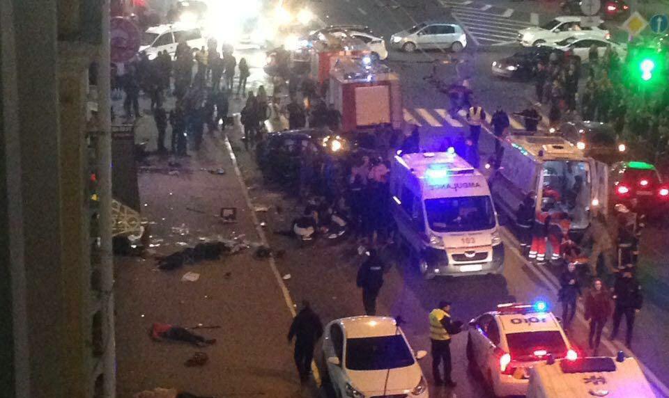 """סמוך לבית חב""""ד: תאונת דריסה נחשדה כפיגוע"""
