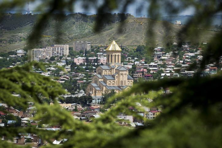 מרהיב: איזור מסטייה בגיאורגיה משלוש זוויות