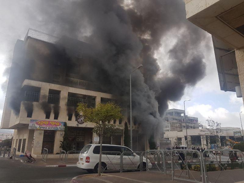 שריפה בבית הספר החרדי: הילדים פונו במהירות