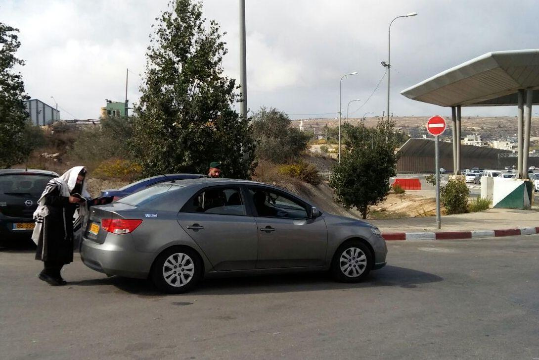 """חקירת ההתנכלות לר""""י אור ישראל: רכב נתפס"""