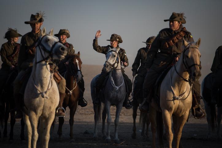 מרהיב: מלחמת העולם הראשונה הגיעה לבאר שבע