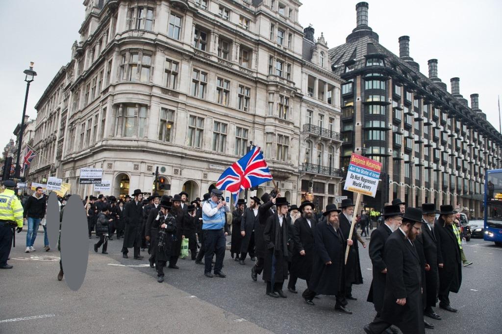 מול הפרלמנט: מחאה נגד