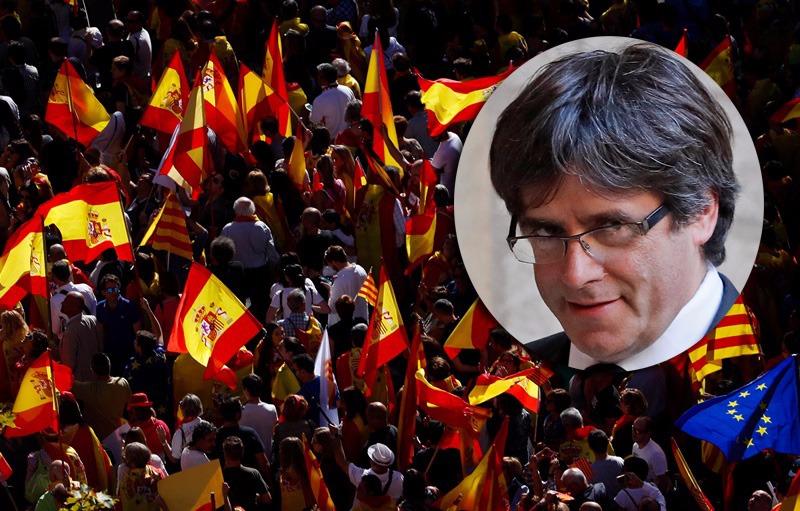 שבוע אחרי שנמלט: מנהיג קטלוניה המודח הסגיר עצמו למשטרה