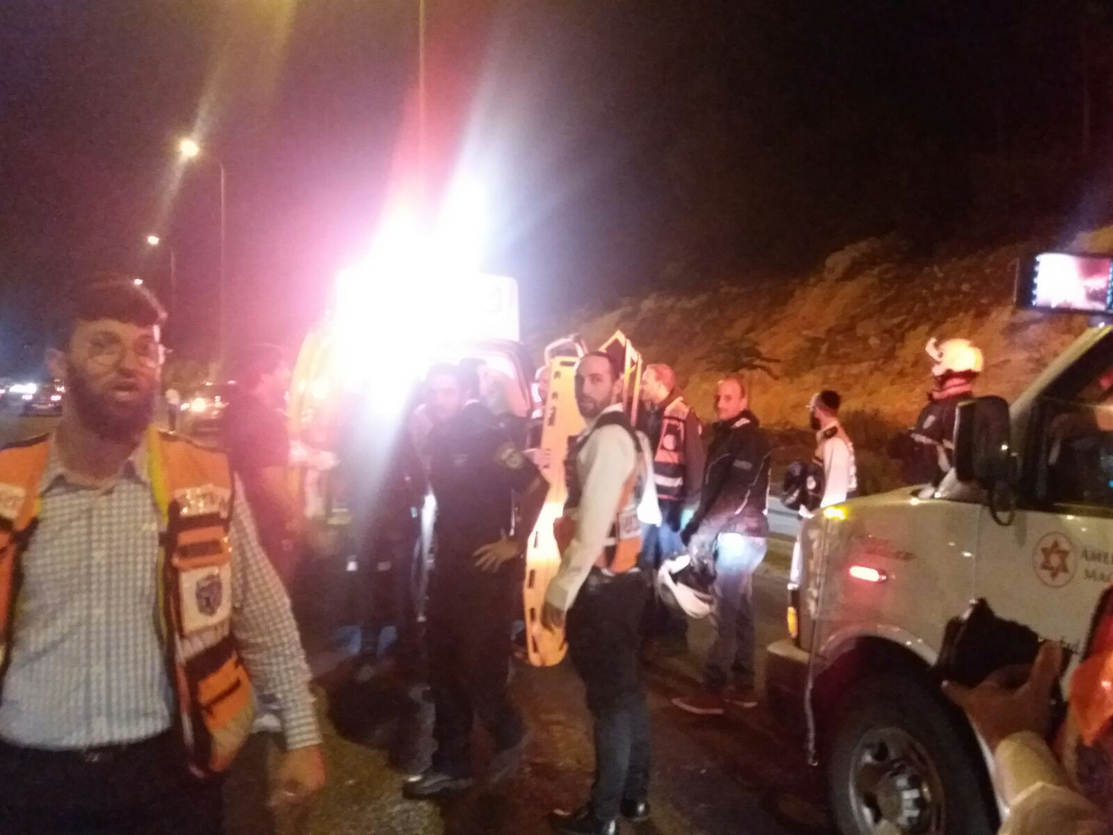 מרדף חם בכביש 1: גנב רכב פרץ מחסום ונורה