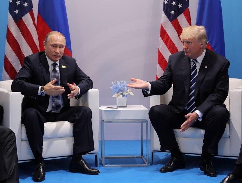 """טראמפ תוקף: """"פוטין מגבה את החיה אסד"""""""