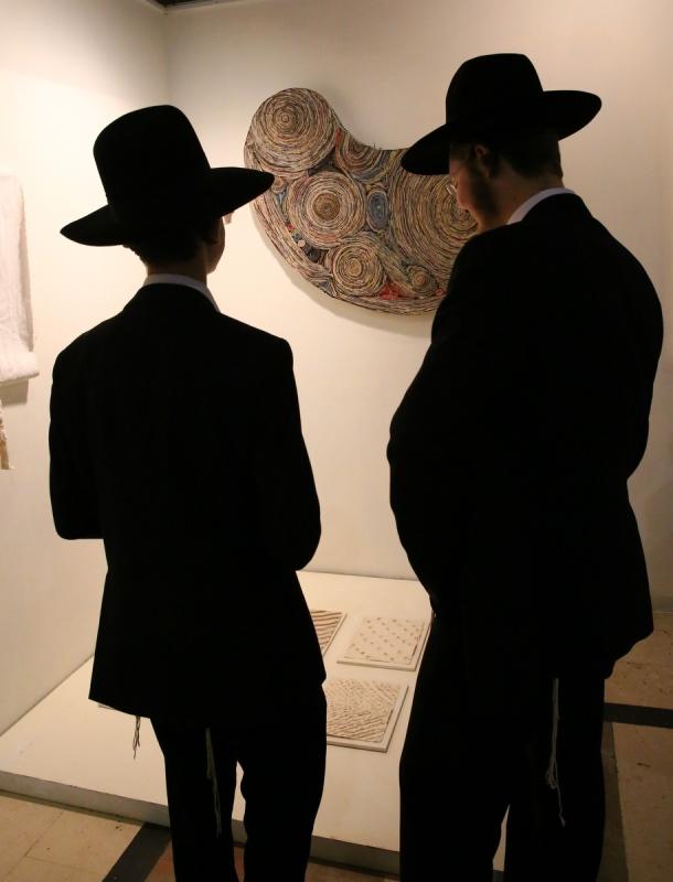 הקשר המסתורי בין יצירת האומנות לדיוקן החסיד