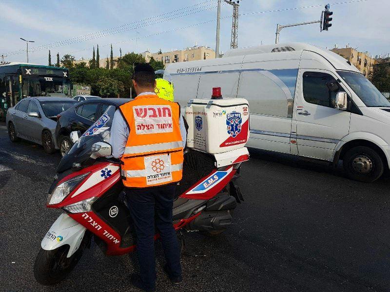 מתנדב הצלה נפצע הלילה קשה בדרכו לאירוע