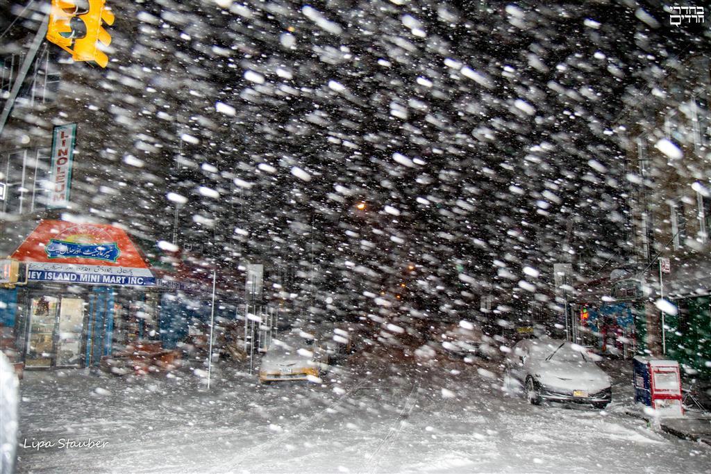 הניו-יורקים מאוכזבים: זה שלג זה?