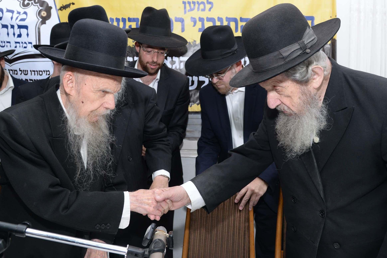 """פרסום ראשון • לראשונה: מסע חיזוק של הגרי""""ג אדלשטיין בירושלים"""