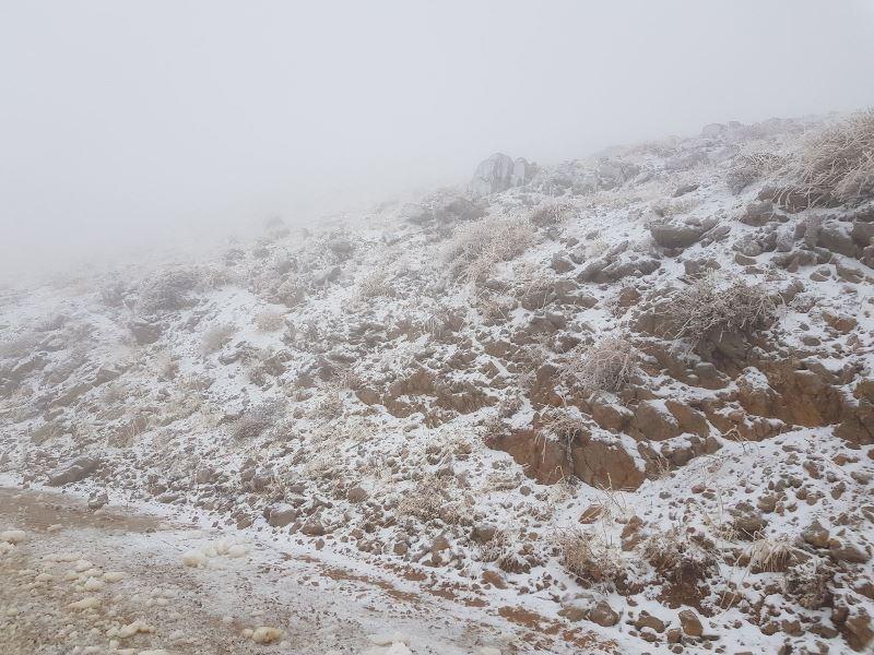 שלג ראשון לחורף: אתר החרמון בלבן • צפו